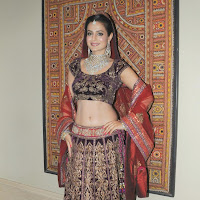 Amisha patel on the ramp