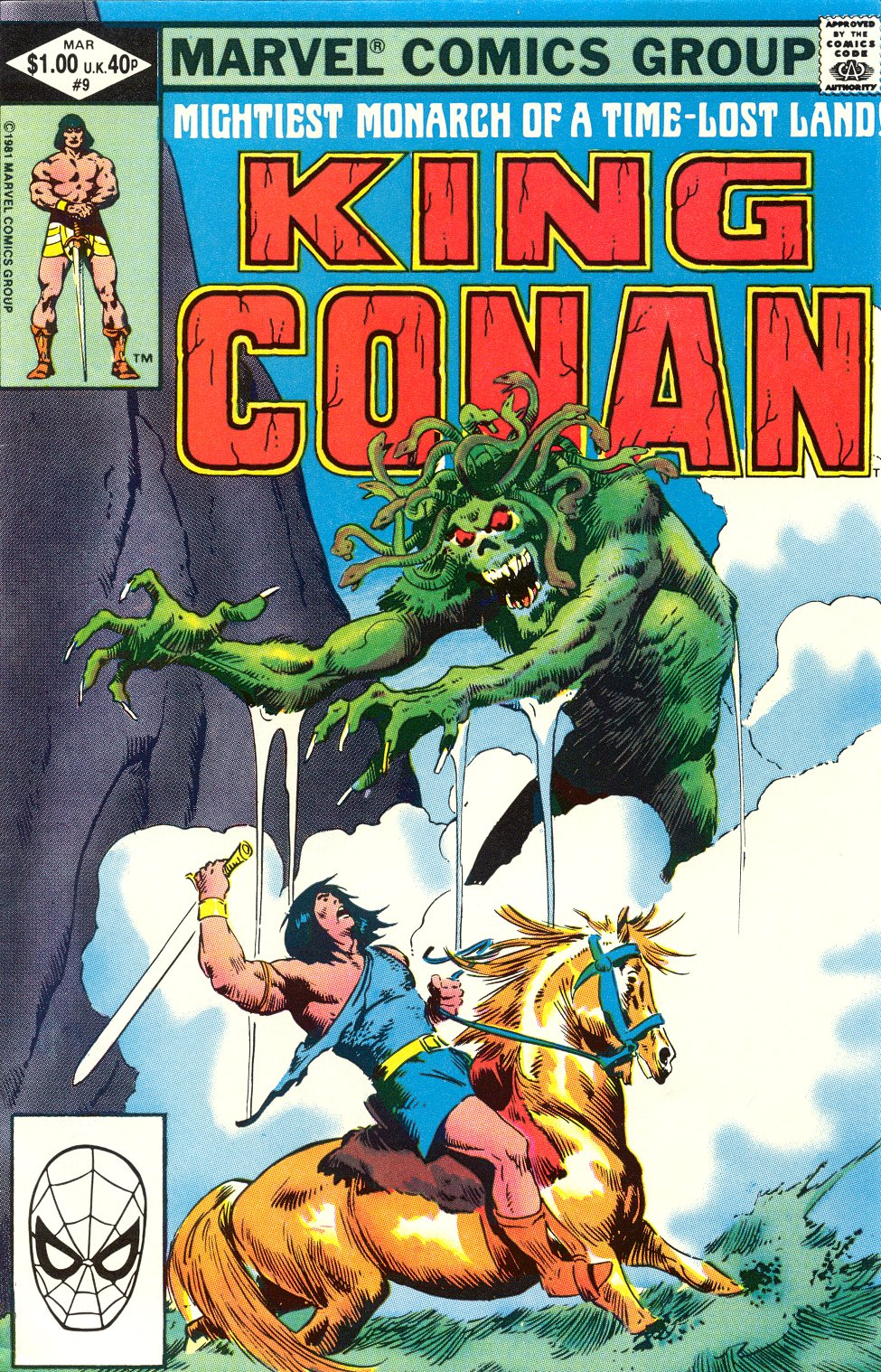 King Conan issue 9 - Page 1