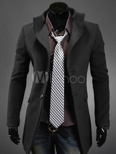 Comprar abrigo hombre online en Milanoo | Página moda China
