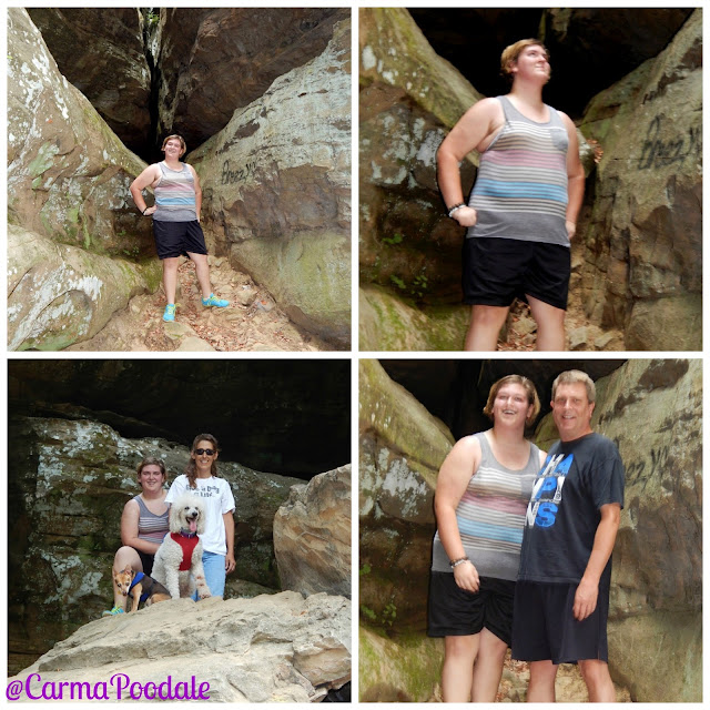 #Eli and family on rock formations of #GardenoftheGods- #CarmaPoodale