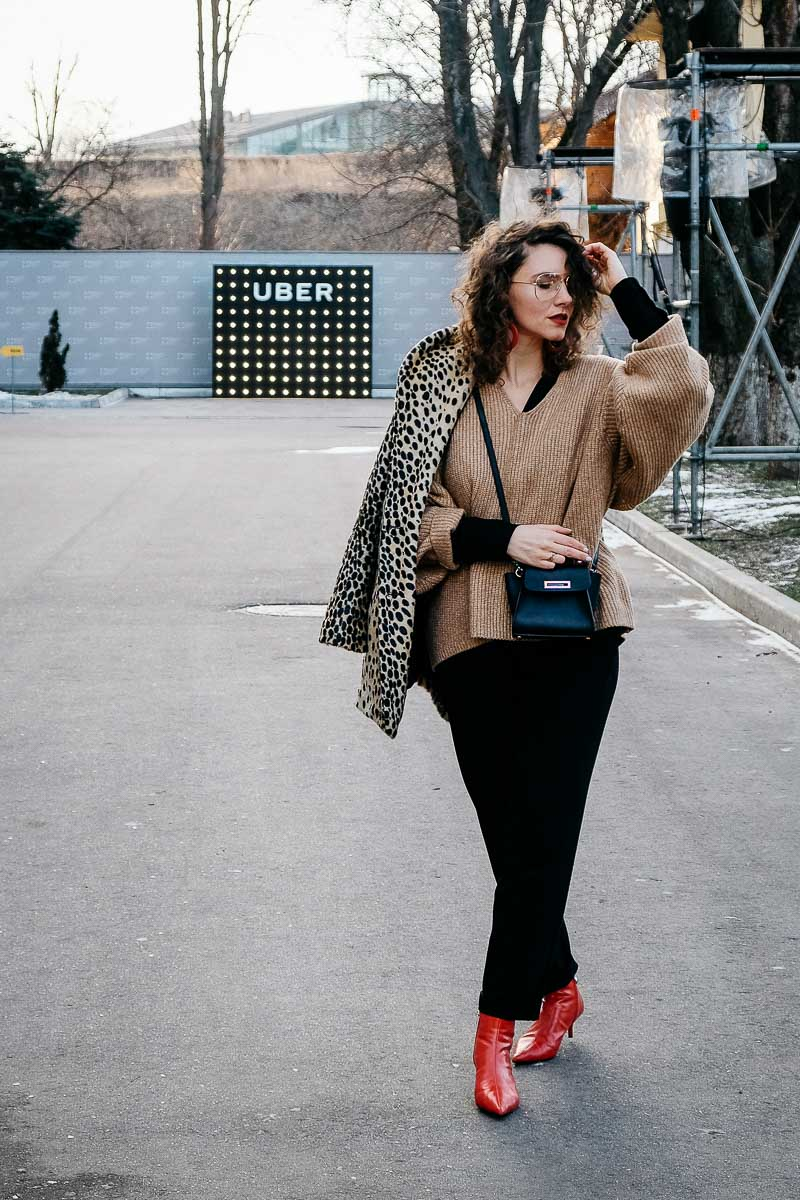одеться стильно зимой