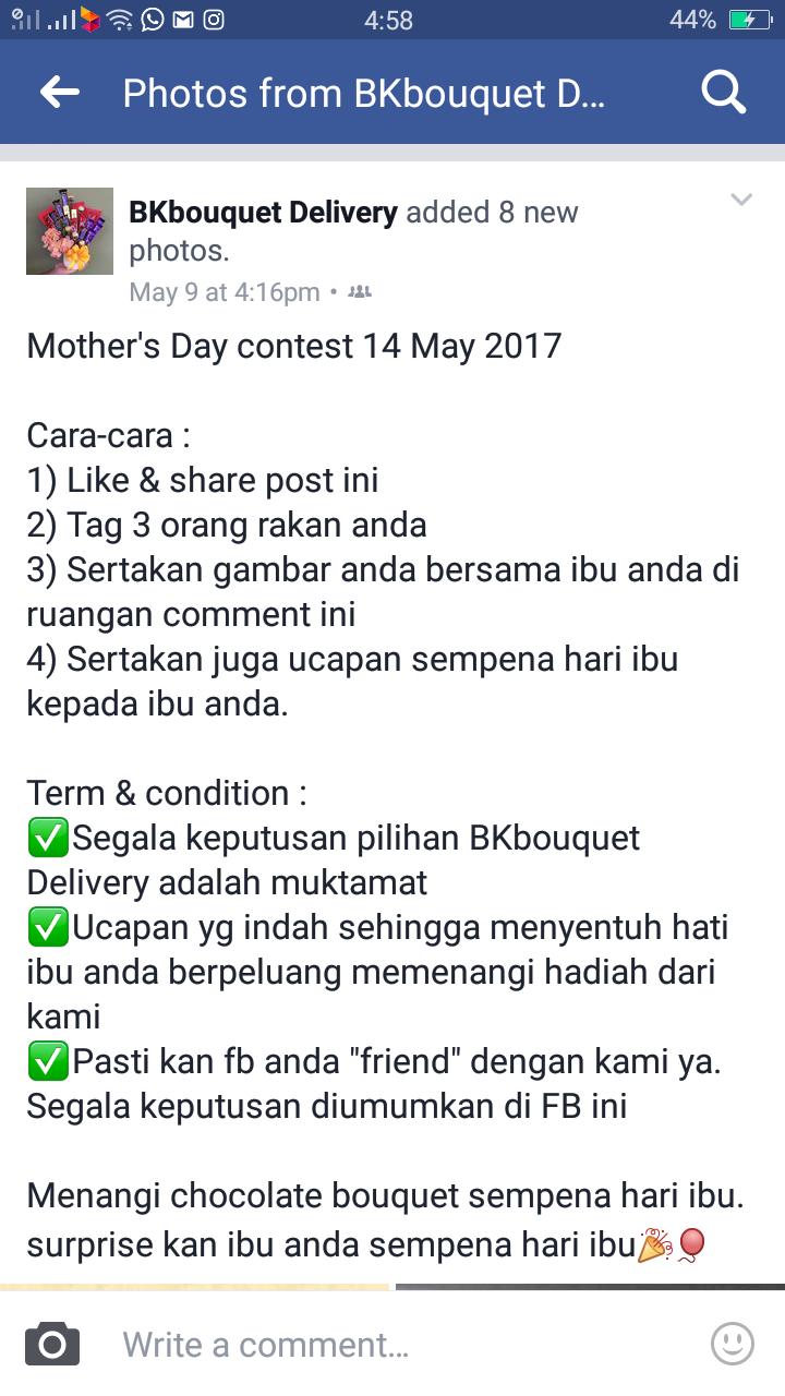Tak Sangka Boleh Menang Contest