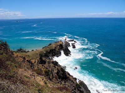 Balade sur la côte à Byron Bay en Australie