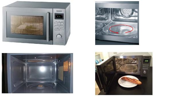 mikrowelle mit grill und umluft. Black Bedroom Furniture Sets. Home Design Ideas