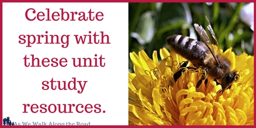 spring unit study resources