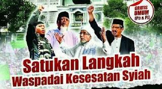 """Hadirilah! Tabligh Akbar """"Satukan Langkah Waspadai Kesesatan Syiah"""" di Surakarta"""