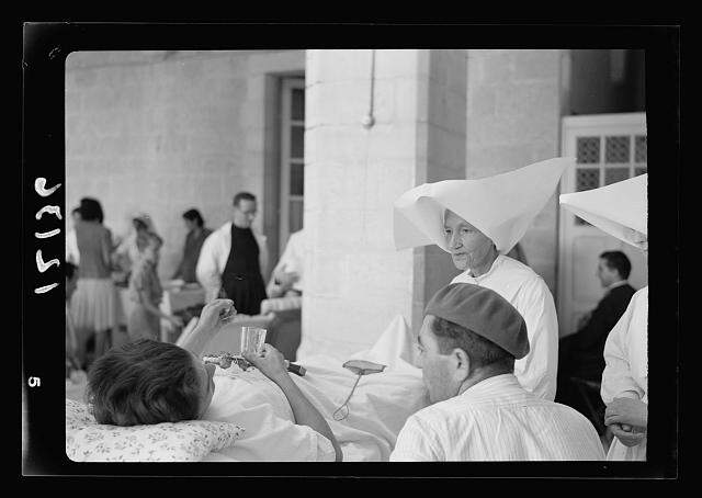Free French soldiers at a hospital, 14 July 1941 worldwartwo.filminspector.com