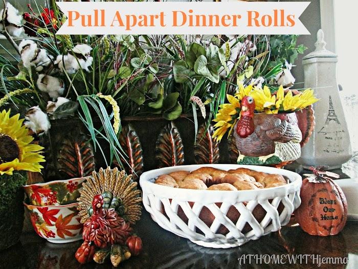 Pull Apart Dinner Rolls