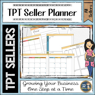 TPT Seller Planner; getting ready for the new year