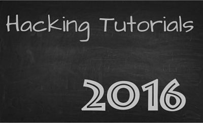 Hacking Tutorials 2016