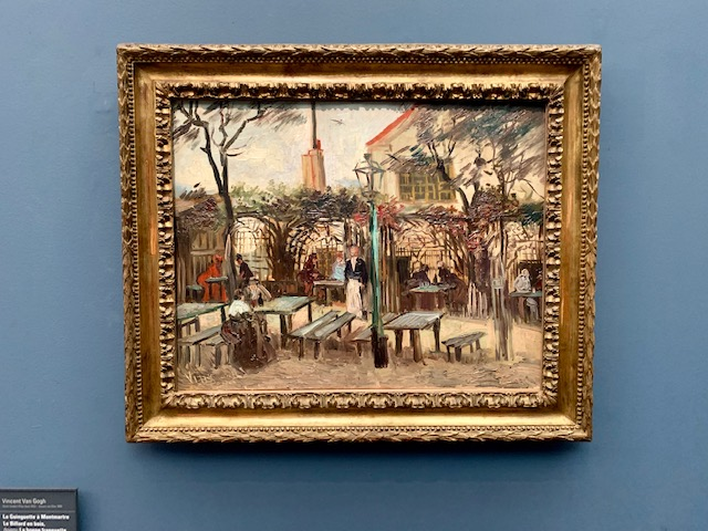 Van Gogh's Terrace of a Cafe on Montmartre