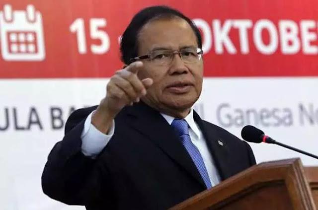 Antara Rizal Ramli Dan Sri Mulyani di Reshuffle Kabinet Kerja Jilid 2