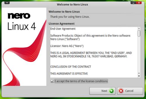 برنامج نيرو Nero يودع منصة لينكس Linux و يتقوف في الإصدار 4.0