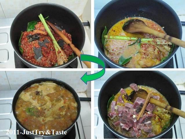 Resep Gulai Daging Kambing