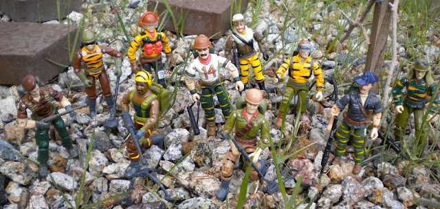 1988 Tiger Force Skystriker, Flint, Roadblock, Bazooka, Tripwire, Frostbite, Duke, Recondo, Dusty, Lifeline