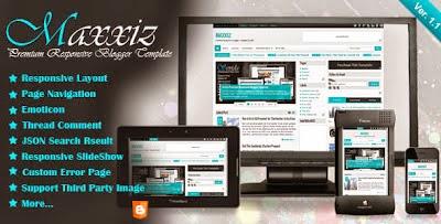 Template Blogspot SEO Responsive Premium
