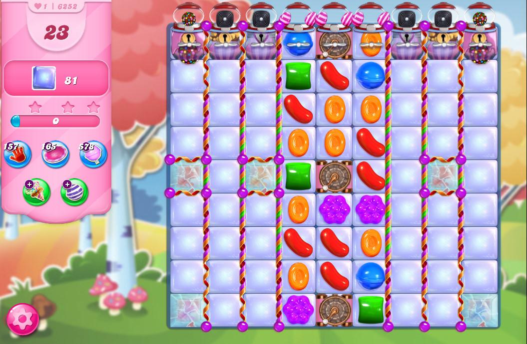 Candy Crush Saga level 6252
