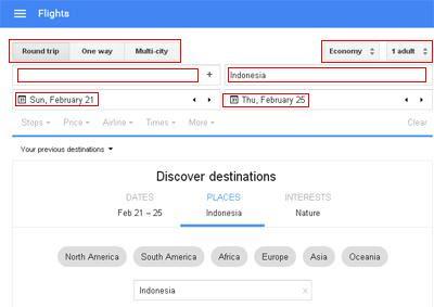 Tips Mencari Tiket Pesawat Murah Dengan Google Flights 1