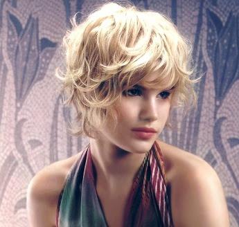 Fácil peinados pelo corto y rizado Imagen De Tendencias De Color De Pelo - Cortes y Peinados del Mundo: Pelo Rizado Corto