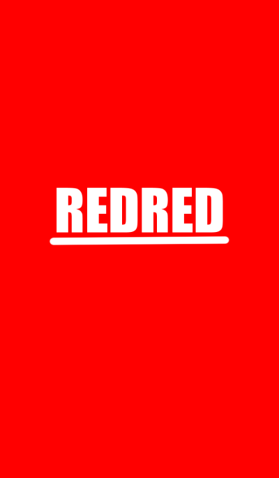 Red Red! ! !