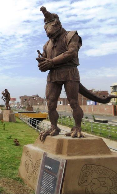 Resultado de imagen de l-hombre-iguana-o-morrop-de-los-mochica-