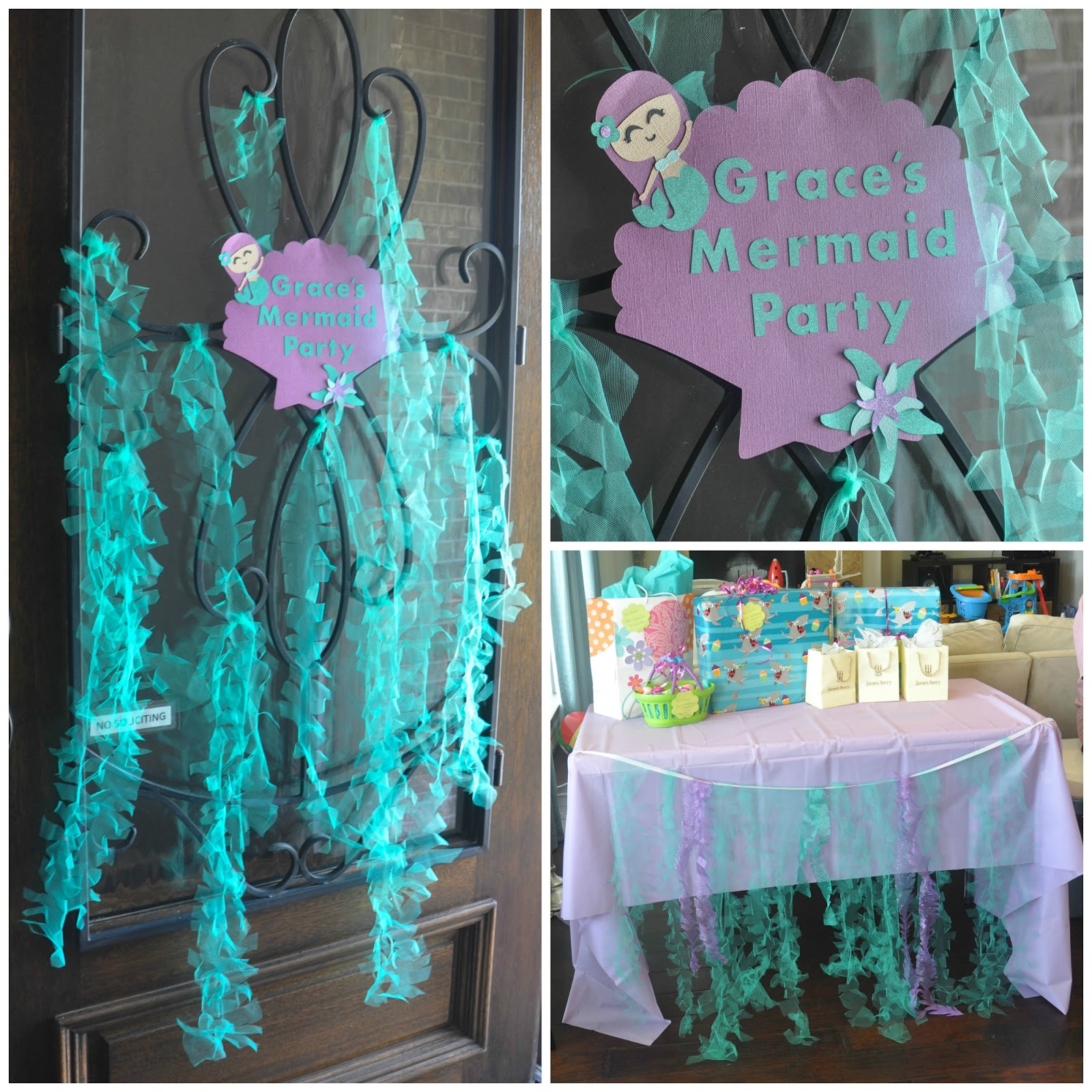 these little loves: Sparkly Mermaid Seaweed | A DIY Party ...