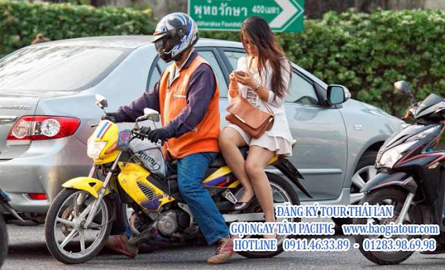 xe ôm bangkok pattaya