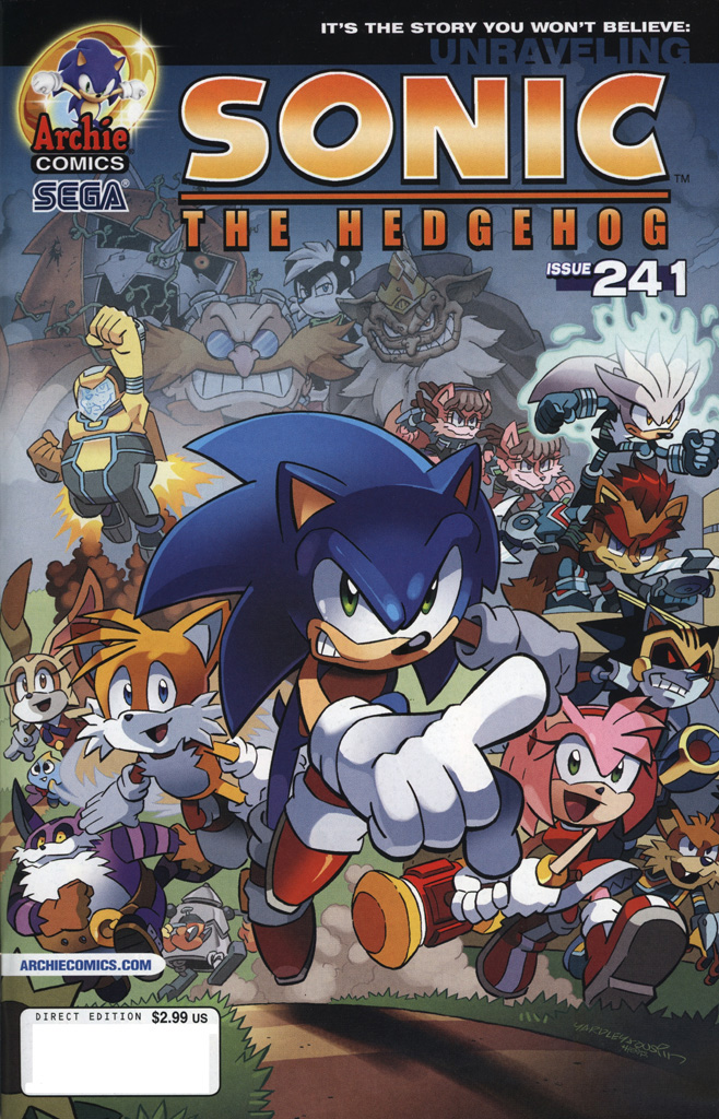Sonic The Hedgehog (1993) 241 Page 1