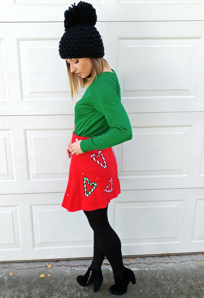 How To Look Cute At An Ugly Christmas Sweater Party ...