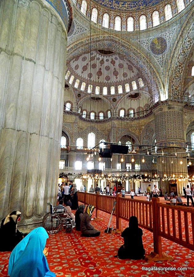 Mesquita Azul, em Istambul, Turquia