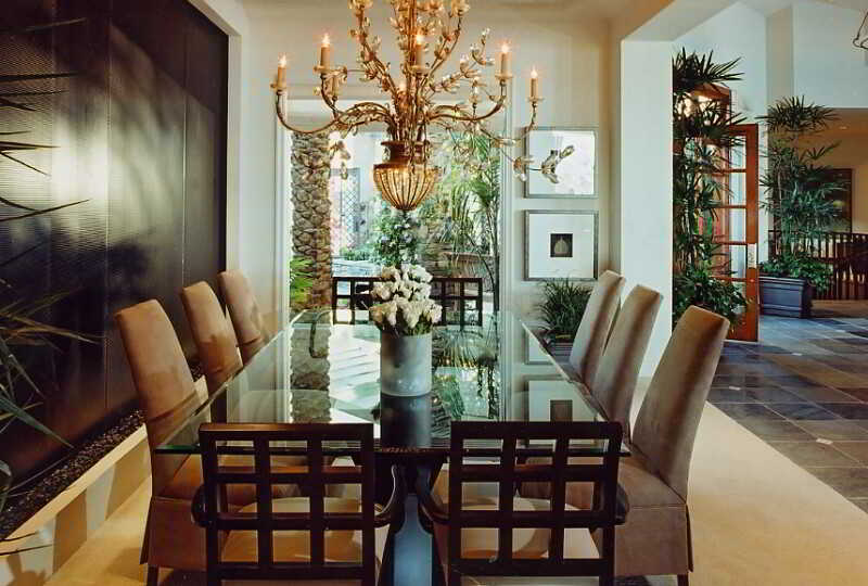 Contoh Desain Ruang Makan Mewah