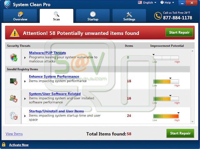 System Clean Pro (Falso optimizador)
