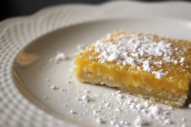 Classic Lemon Bars by freshfromthe.com