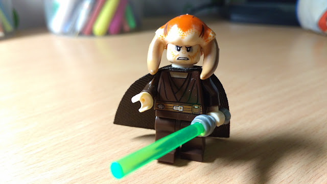 Джедай Сэси Тийн фигурка лего Star Wars Звездные войны