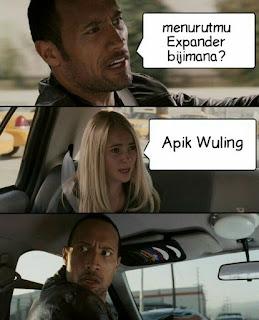 """Meme """"Apik Wuling"""" Mengalahkan Expander"""