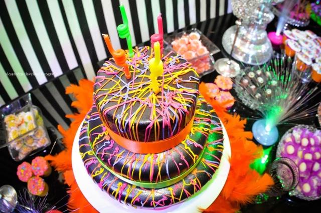 decoracao festa neon:Fika a Dika – Por um Mundo Melhor: Festa Neon