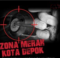 Zona Merah Grab Gojek Depok