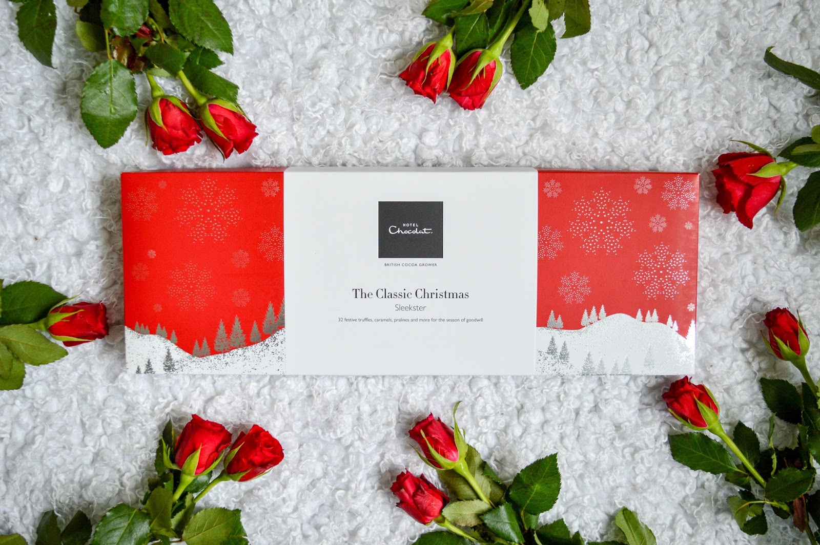 i was delighted to be able to try out a box from hotel chocolats christmas gift boxes this year and was sent the classic christmas chocolate sleekster