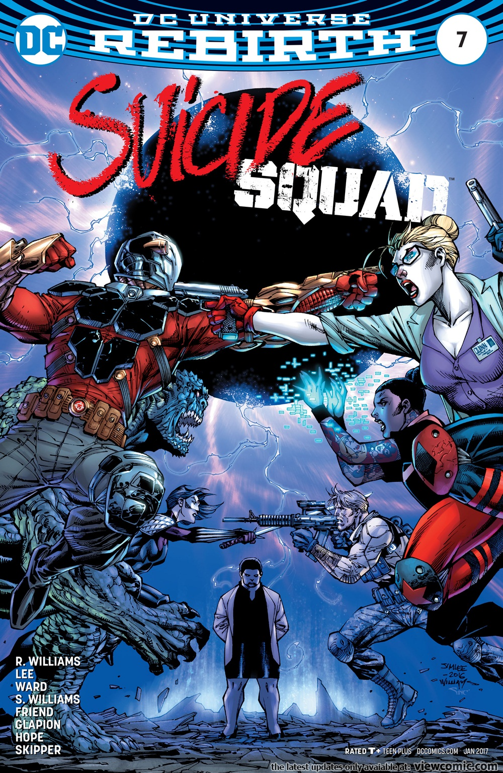 Suicide Squad v5 007 (2017)  | Vietcomic.net reading comics online for free
