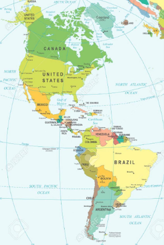 Letak Benua Amerika : letak, benua, amerika, Benua, Amerika:, Letak,, Karakteristik,, Iklim,, Penduduk, Pembagian, Wilayahnya