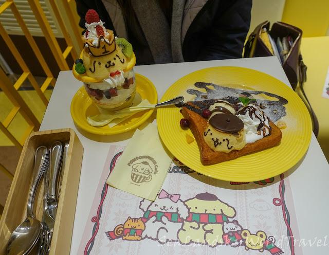 梅田布丁狗cafe, POMPOMPURIN Cafe
