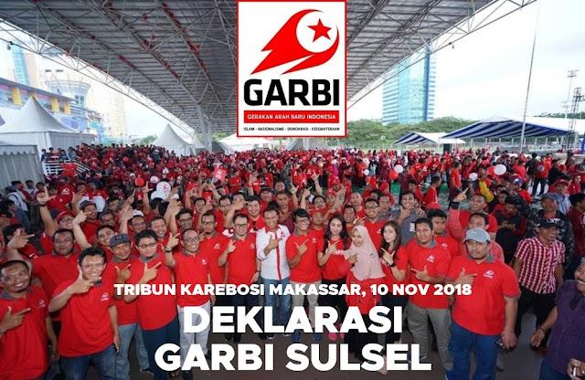Deklarasi GARBI Sulsel Pecahkan Rekor