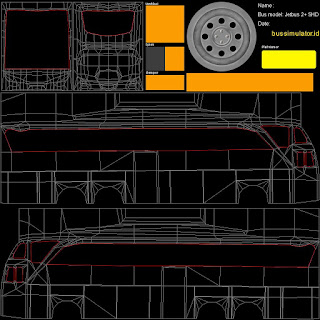 Kumpulan Mentahan dan Stiker Livery Bus Simulator Indonesia