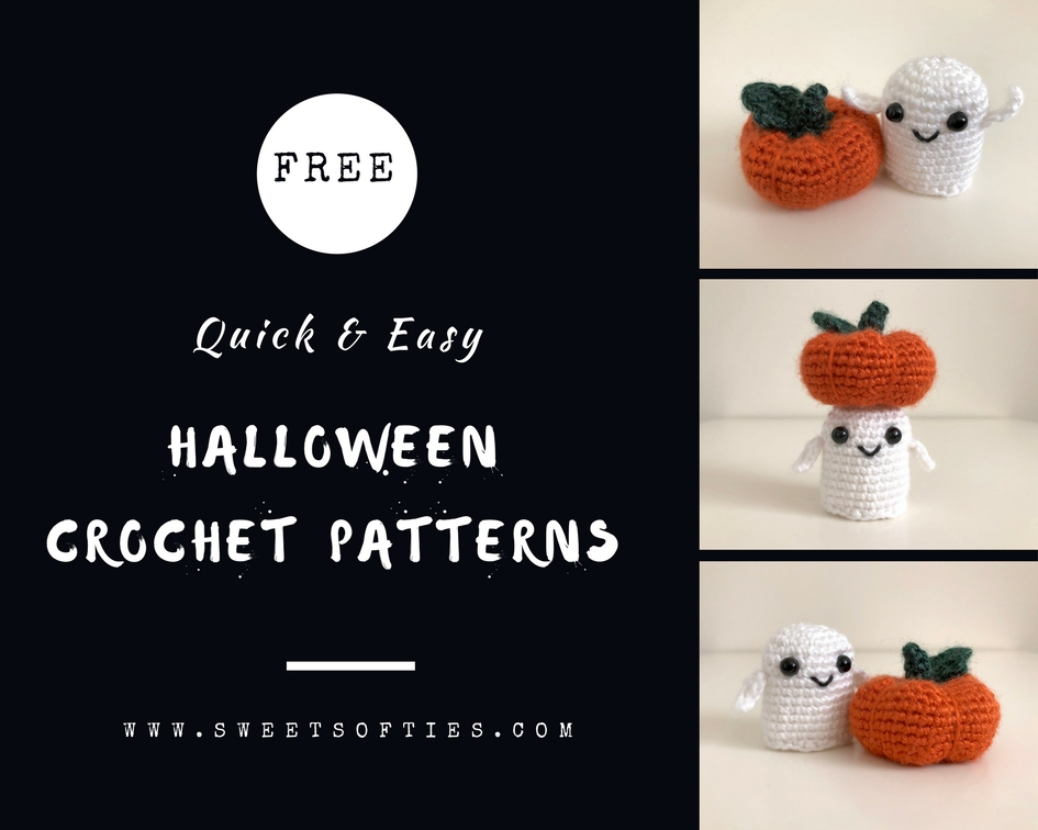 25 FREE CROCHET PATTERNS for HALLOWEEN -- cute and spooky | 756x945