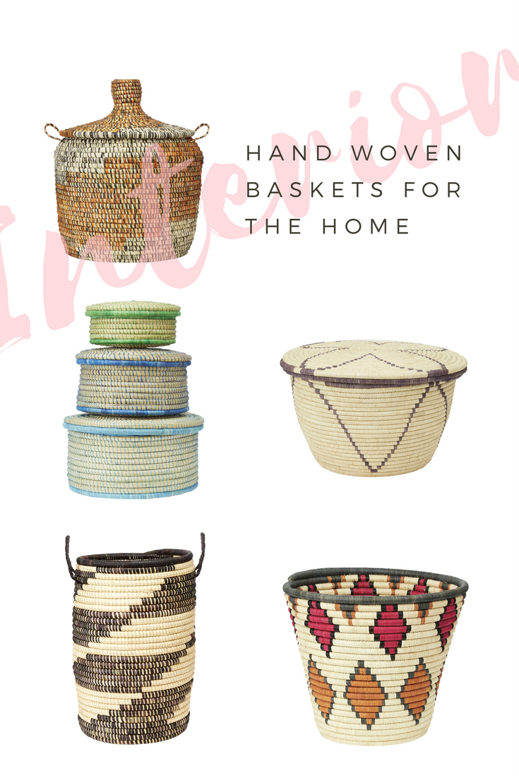 uganda, charity, stylish homes, plant baskets, hand woven baskets, interior style, boho home