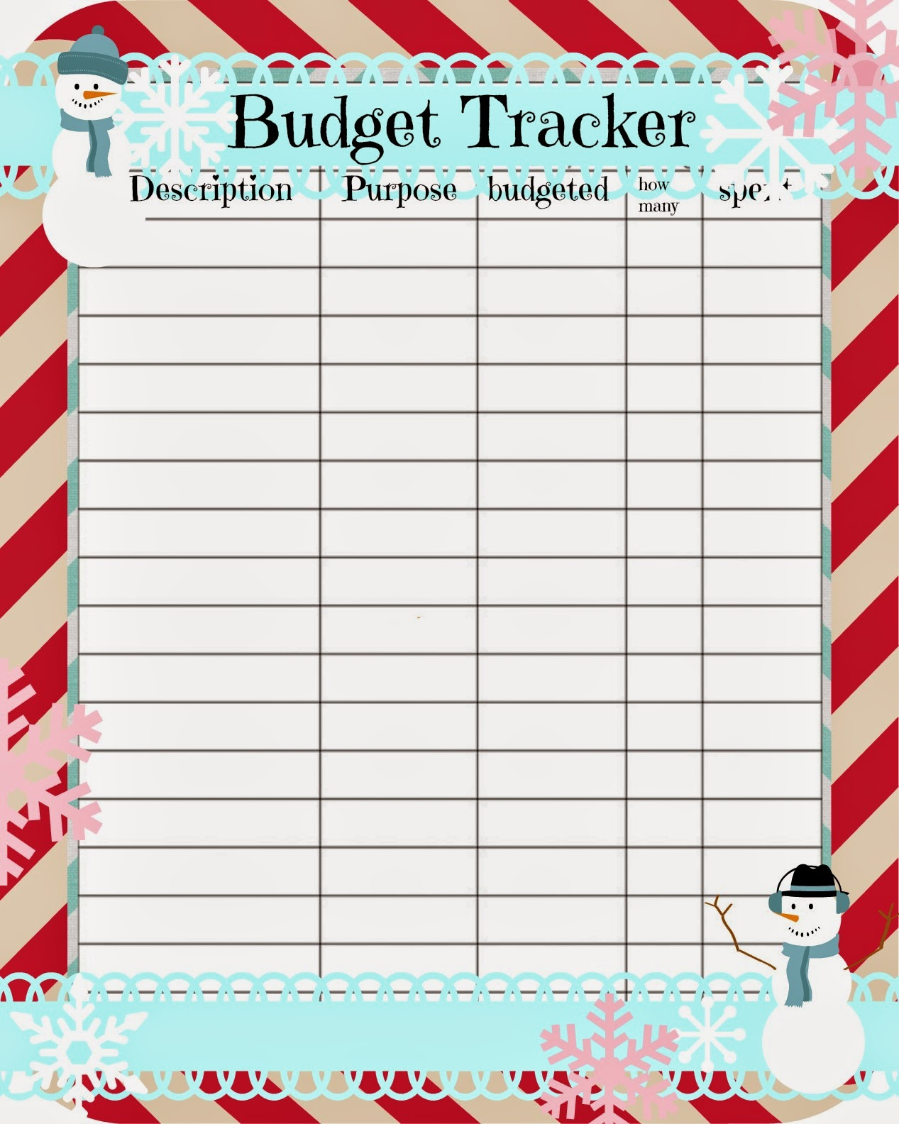 New Married Couple Budget Template