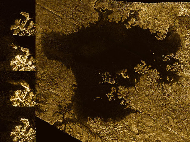 Cassini finds flooded canyons on Saturn's moon Titan