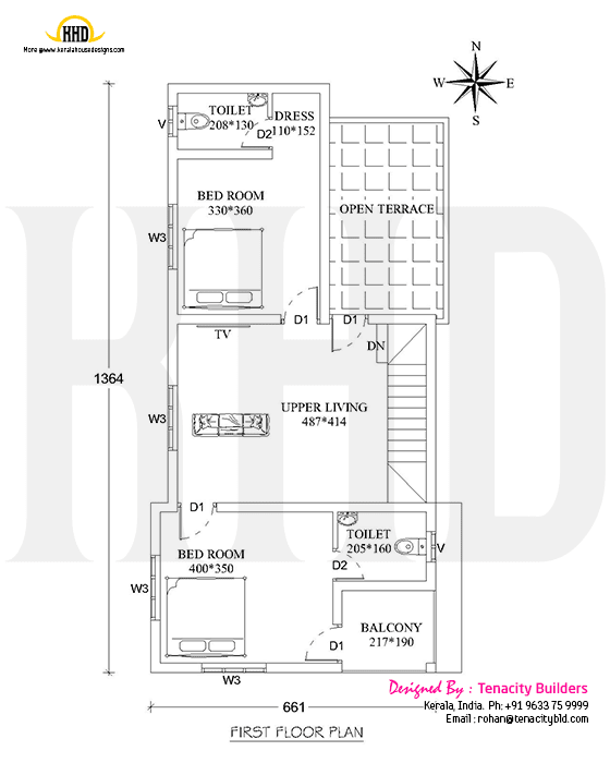 Drawing House Floor Plans: Cute House With Ample Design