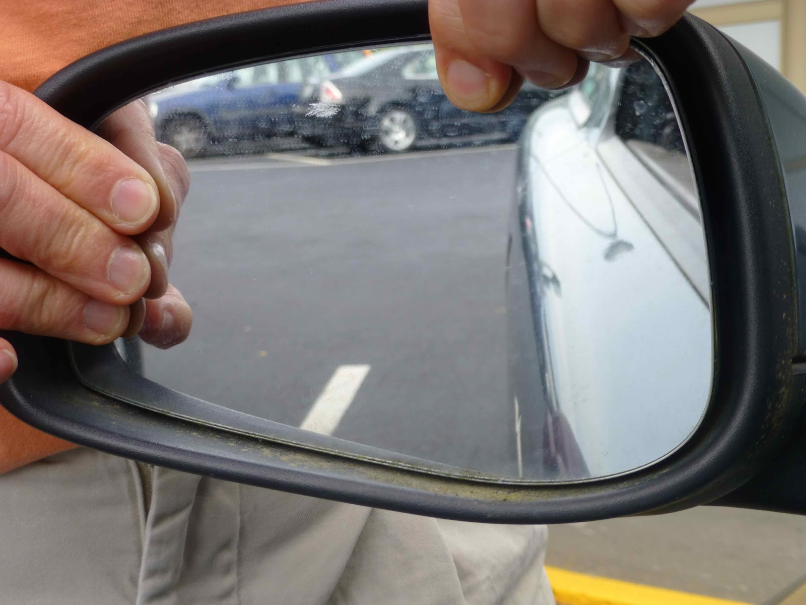 Scraperfect How To Fix Car Mirror Easy