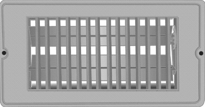 2 X 14 Floor Register